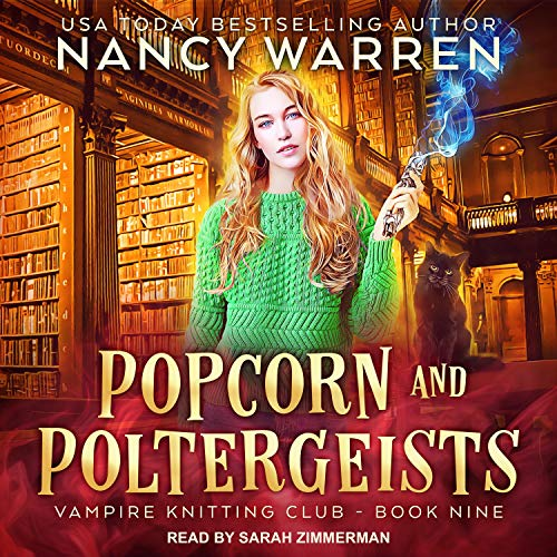 Popcorn and Poltergeists cover art