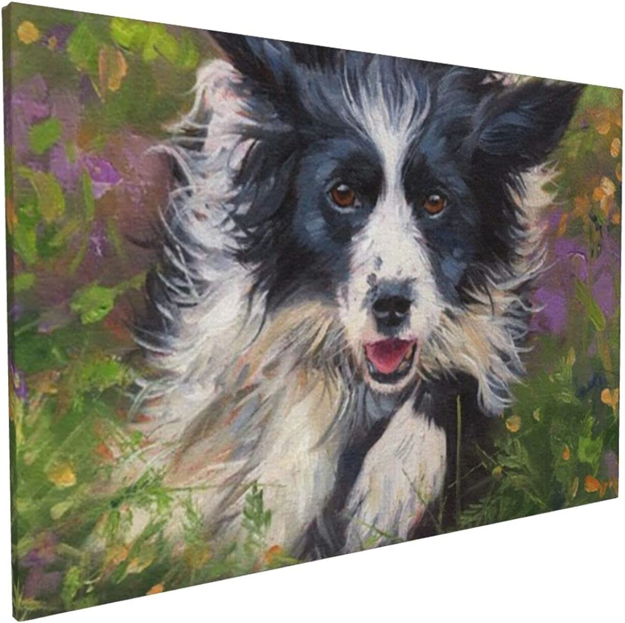 Super beauty product restock quality top Agroleg Poster Wall Surprise price Painting Border L Collie Art Canvas Dog