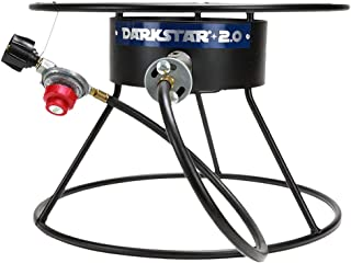 Northern Brewer - Dark Star Propane Burner for Beer Brewing (Black)