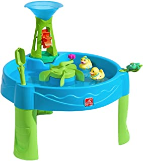 Step2 Duck Dive Water Table | Kids Water Table with Water Tower & 5-Pc Accessory Set, Multicolor