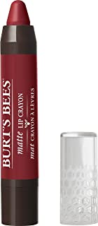Burt's Bees 100% Natural Moisturizing Matte Lip Crayon, Redwood Forest - 1 Crayon
