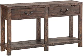 Modus Furniture Craster Reclaimed Wood Console Table, Smokey Taupe