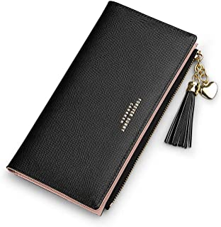 Wallets For Women Card Holder Slim Wallet Coin Clutch Purse Organizer Cute Thin Leather Girl Ladies