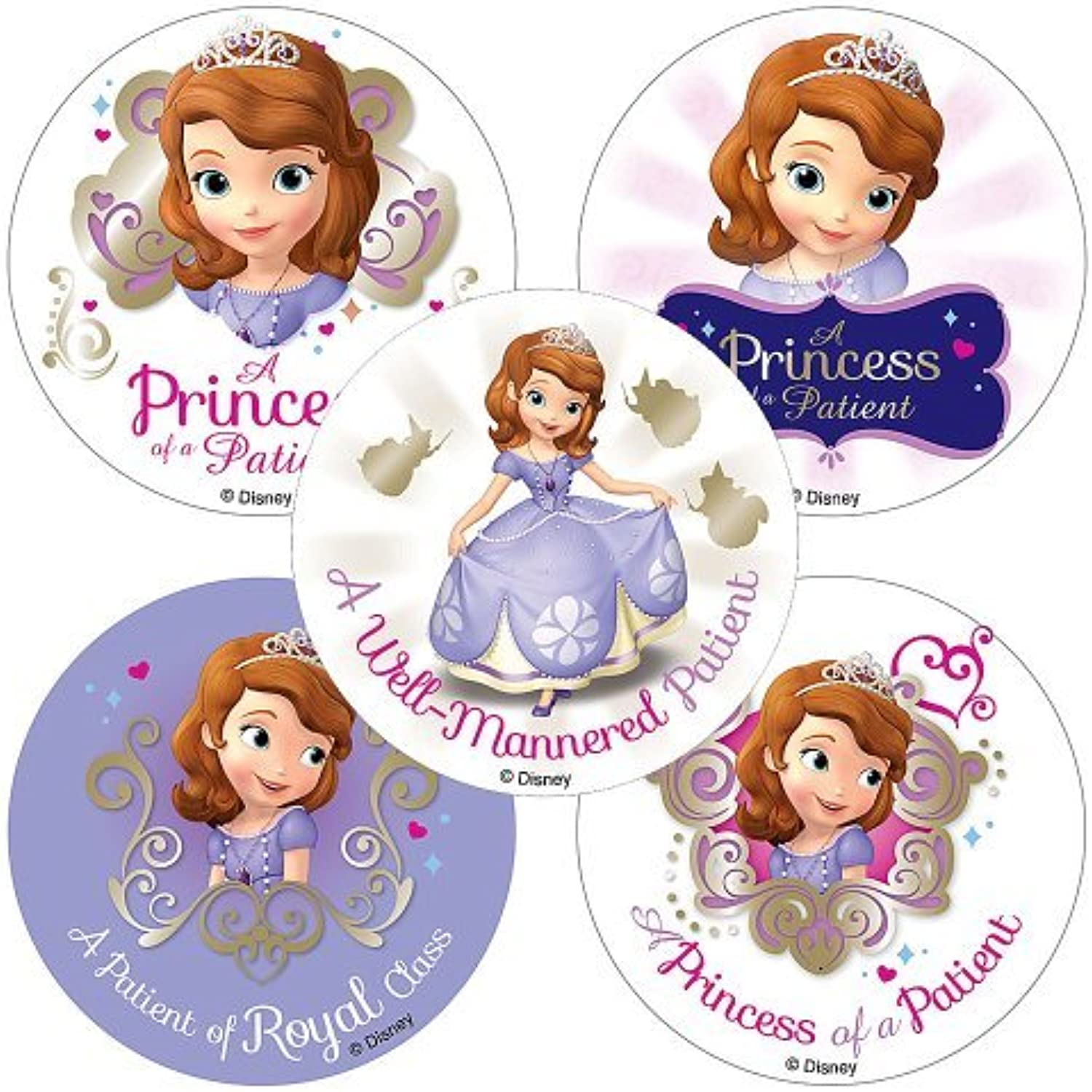 Disney Sofia The First Patient Stickers - 75 per Pack by SmileMakers