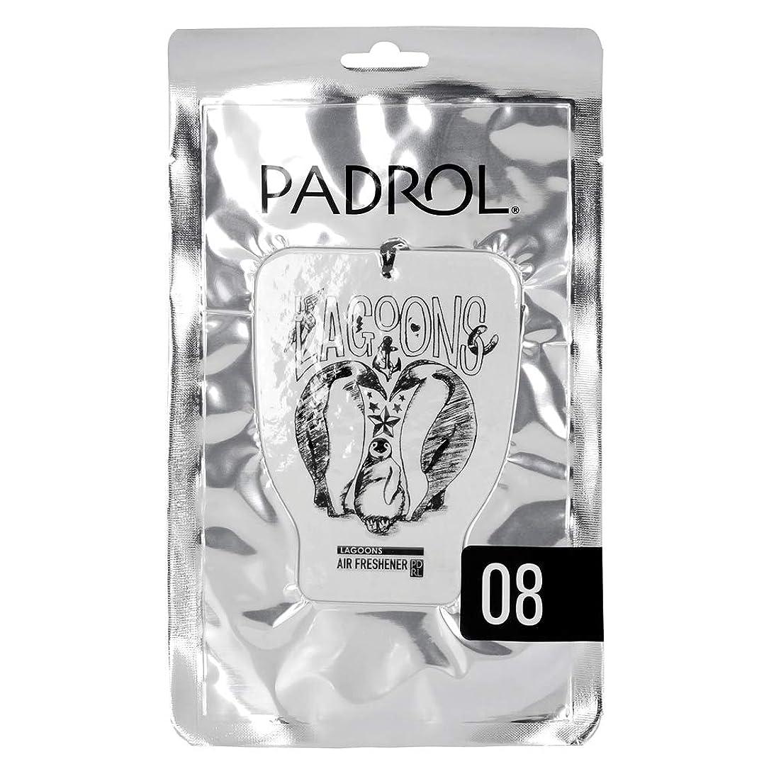 アジャ着飾るスマッシュノルコーポレーション ルームフレグランス エアーフレッシュナー パドロール 吊り下げ LAGOONS PAD-5-08 オリエンタルムスクの香り 1枚