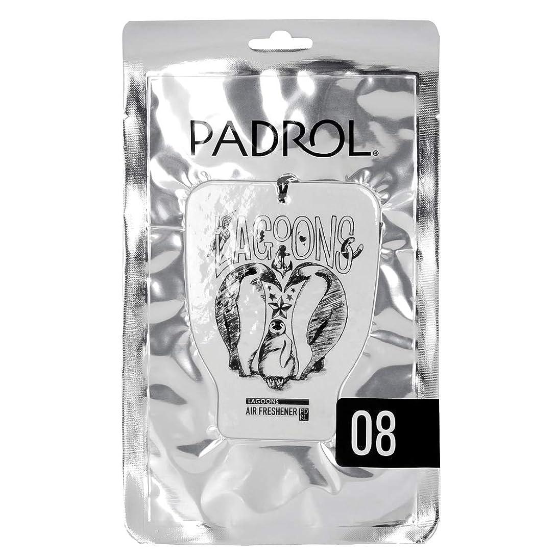 褒賞クリップラバPADROL ルームフレグランス エアーフレッシュナー LAGOONS 吊り下げ オリエンタルムスクの香り PAD-5-08