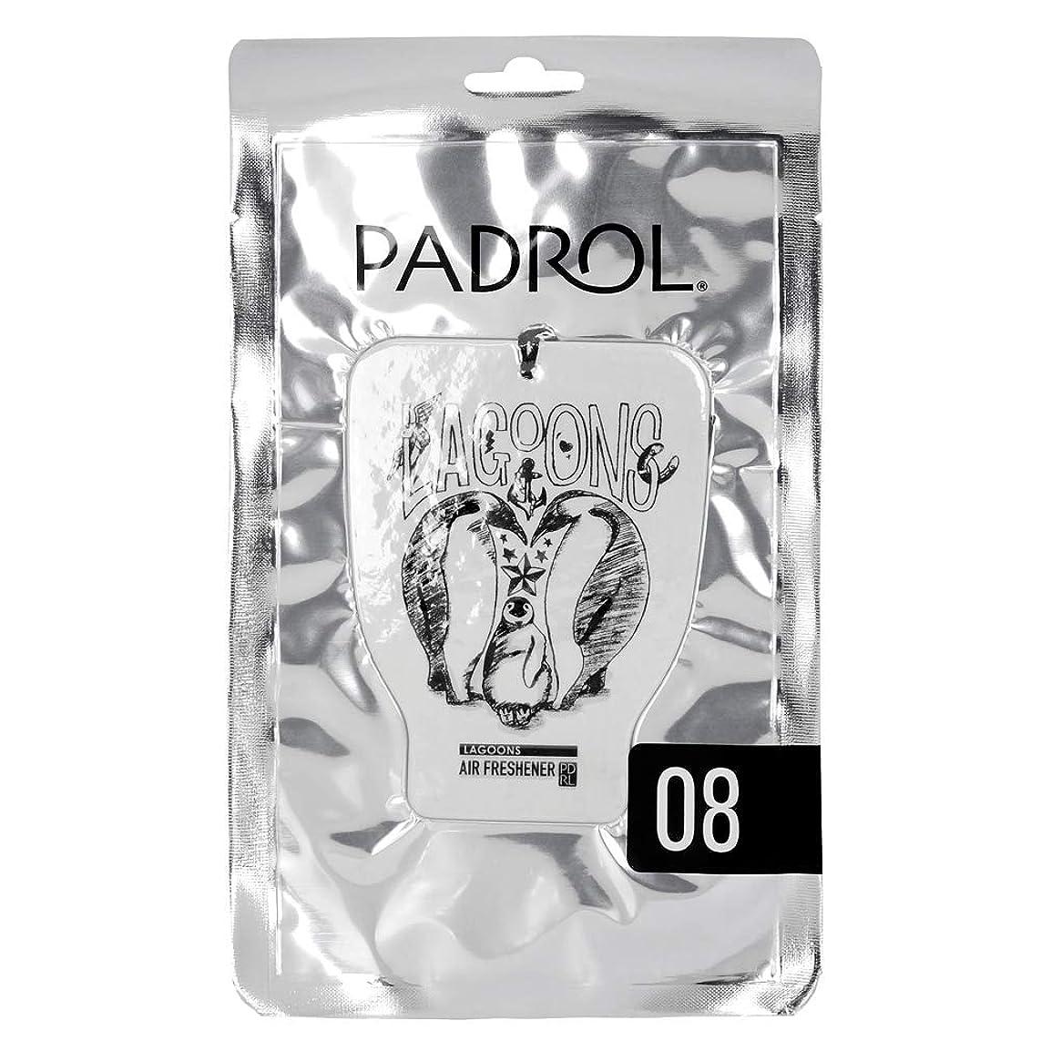 まぶしさ代わりのマザーランドPADROL ルームフレグランス エアーフレッシュナー LAGOONS 吊り下げ オリエンタルムスクの香り PAD-5-08