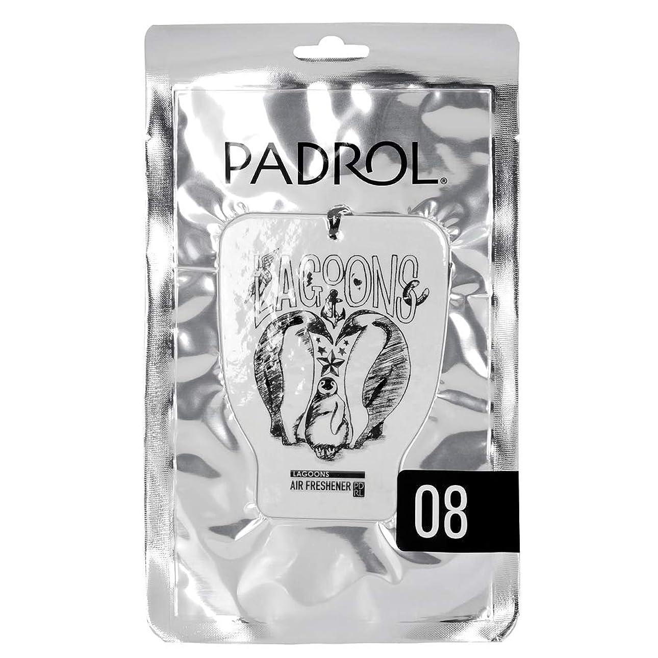 おばさん思いやりのある他の場所PADROL ルームフレグランス エアーフレッシュナー LAGOONS 吊り下げ オリエンタルムスクの香り PAD-5-08