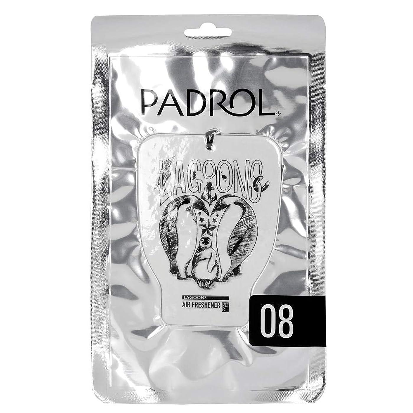 味付け承認する農夫PADROL ルームフレグランス エアーフレッシュナー LAGOONS 吊り下げ オリエンタルムスクの香り PAD-5-08
