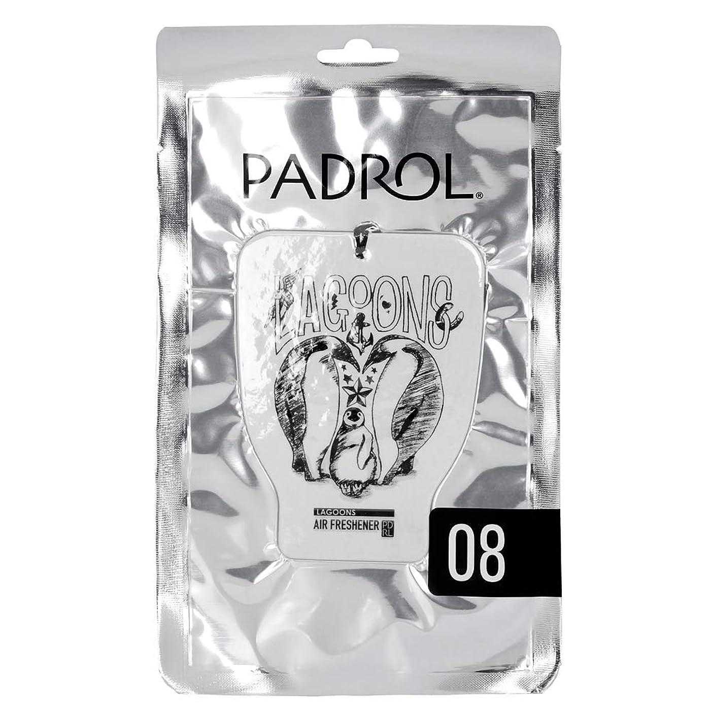 シルク説得力のある承認するノルコーポレーション ルームフレグランス エアーフレッシュナー パドロール 吊り下げ LAGOONS PAD-5-08 オリエンタルムスクの香り 1枚