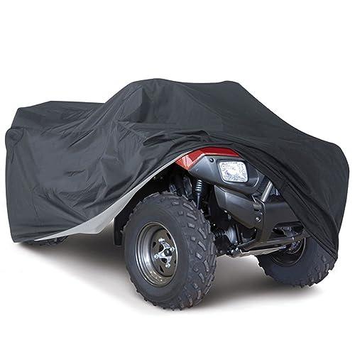 NOVSIGHT Housse/Bâche Protection pour Moto Quad ATV Extérieure Etanche Anti -UV XXL Noir