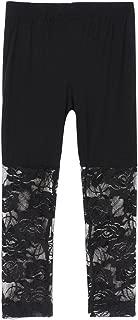 Kid Baby Girl's Lace Tight Legging Pants Comfy Capri Summer