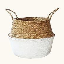 Open Storage Bins Basket à main en tissu pliable panier de rangement pour vêtements sales de fruits jouets style nordique ...