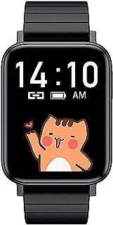 TIANYOU Reloj Inteligente, Reloj Inteligente de Pantalla Táctil de 1.65 Pulgadas, Rastreador de Fitness de Negocios con Bluetooth, Calorie Contador de Actividades Tracker-Gold Desga
