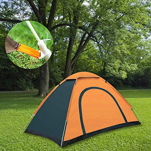 Okssud Camping Tent Automatic Pop Up Waterproof Tent Sun Shelters for Picnic, Hiking, Fishing, Outdoor,Garden