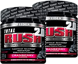 Weider Total Rush 2 x 375 g Cranberry