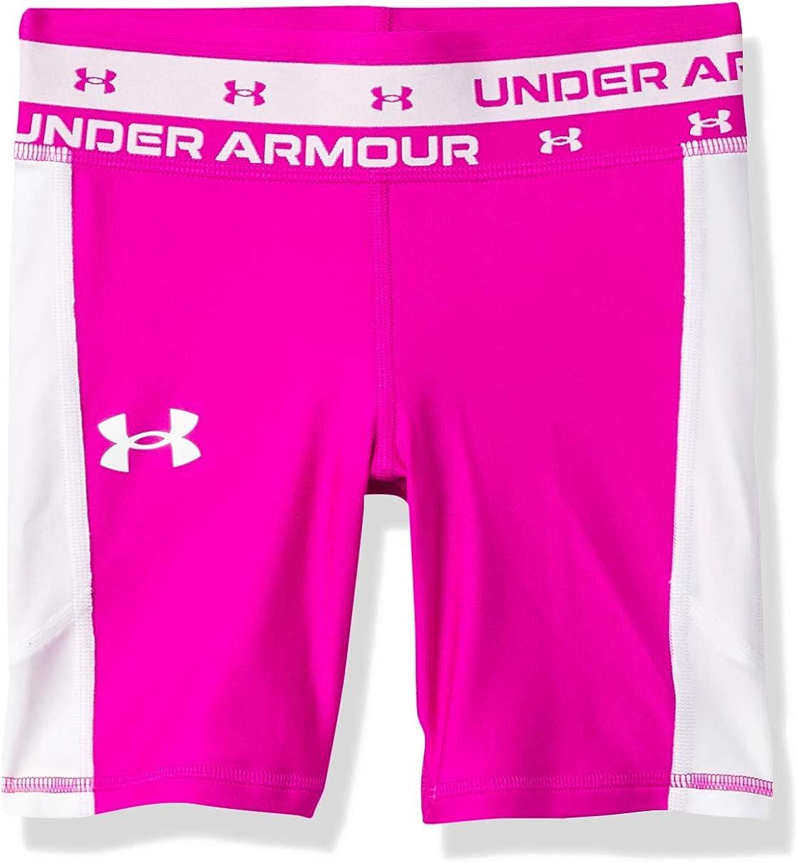 Max 50% OFF OFFicial shop Under Armour Girls' Bike Shorts HeatGear