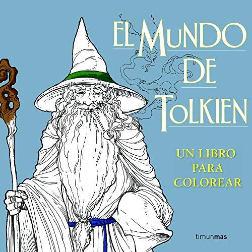 El mundo de Tolkien. Un libro para colorear (Biblioteca J. R. R. Tolkien)