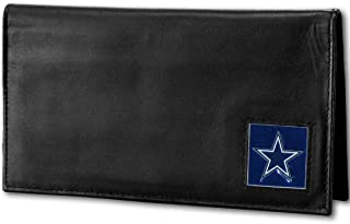 NFL Dallas Cowboys Deluxe Leather Checkbook Cover