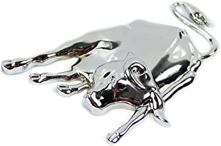 All Ride 36424 Logo Chrome Taureau Autocollant