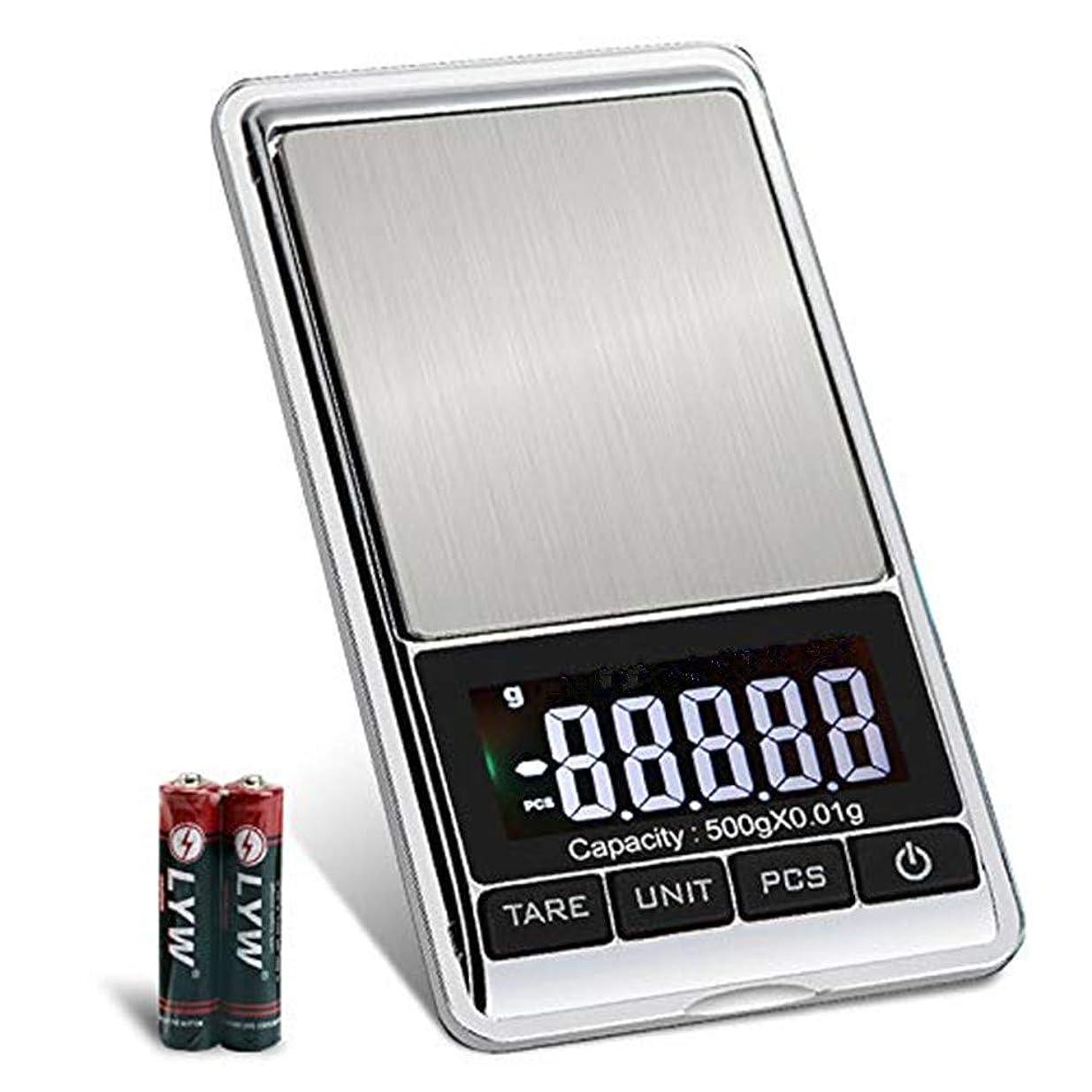 空洞しばしば速度PALMOO ポケットスケール 高精度デジタルスケール500g / 0.01gリロード、携帯タイプ ポケットデジタル スケール 業務用(プロ用) 計測