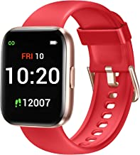 Letsfit IW1 Smart Watch for Android Phones Compatible with iPhone, 1.4 Inch Touch Screen Smartwatch with Blood Oxygen Satu...