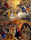 Kunstdruck/Poster: EL Greco Die Anbetung und Verherrlichung