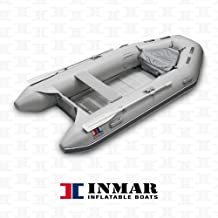 "INMAR 10'6"" Dinghy Tender Inflatable Boat - 320-TS 5 Passenger Grey Boat Inflatables"