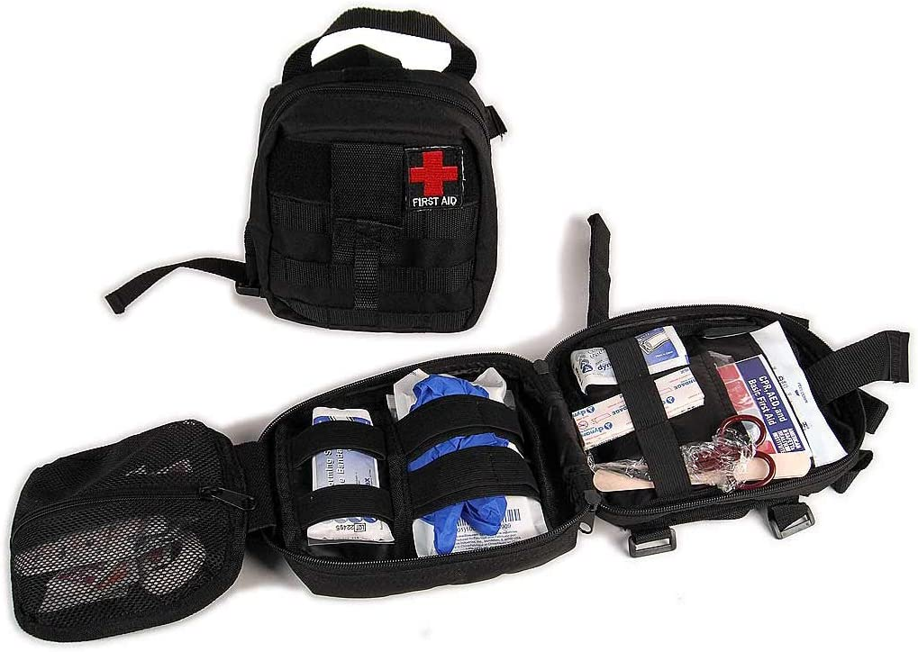Rukse First Aid Bag and 50 attaches Roll to Piece Dealing full price Mail order cheap reduction Kit