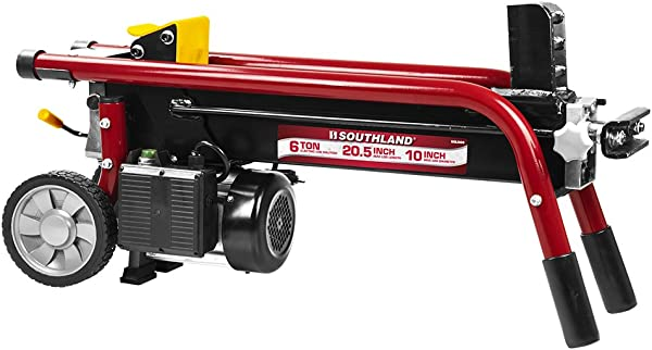 Southland Outdoor Power Equipment SELS60 6 Ton Electric Log Splitter Red
