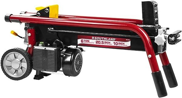 南国户外电力设备 SELS60 6 吨电动原木分配器红色