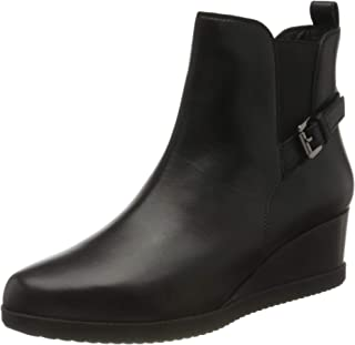 Geox D Anylla Wedge, Ankle Boot Femme