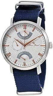 Lucien Piccard Multi-Function Nylon Strap Men's Watch 10340-02S-RA-NBNS