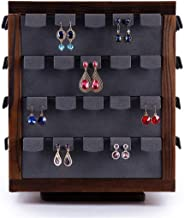 TONGSH Hanging Jewelry Organizer,Accessories Organizer,Holder Earring Necklace Rack Bracelet Stand for Jewelry Organization and Display
