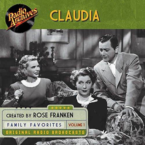 Claudia, Volume 1 audiobook cover art