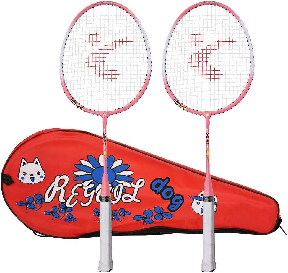 Jacksing Badminton Set Children Rack Racket Max 67% OFF Popular popular