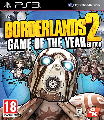 Ps3 borderlands 2 - game of the year edition (eu)