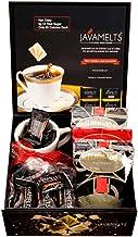 JAVAMELTS Gift Box - Coffee Mug, Coffee and Flavored Sweeteners - (1) 8oz Mug (30) Assorted JAVAMELTS and (4) 2.5oz El Dorado Colombian Coffee Bags - Makes 48 Cups of Premium Coffee!