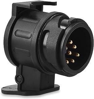 SXYHKJ Adapter f/ür PKW Anh/änger Adapter Anh/ängerkupplung Adapterst/ück von 13 Pin Auto auf 7 Pin Anh/änger