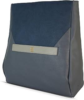 Baggit Autumn-Winter 2020 Faux Leather Women's Backpack Handbag (Grey) (Slity)