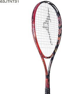 MIZUNO/ミズノ ジストTゼロ ソリッドブラック×フレイム+ミクロパワー張り上げ 63JTN73162 軟式テニスラケット ソフトテニスラケット 前衛用 2017年6月発売