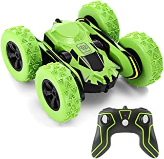 Ansee Remote Control Car Rc Cars for Kids Stunt Car Off Road Radio Controlled Cars 2.4GHz 4WD 6CH High Speed Rechargeable 360 Degree Rotating RC Vehicles (Battery Included)