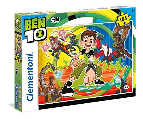 Clementoni- Ben 10 Puzzle, 104 Piezas, Multicolor (27082)