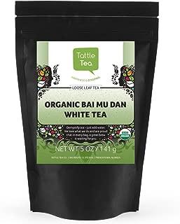 Tattle Tea Organic Bai Mu Dan White Tea, 5 Ounce