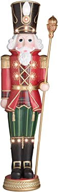 EVAXO Pre-Lit 6' Grand Nutcracker with 15 LED Lights #S