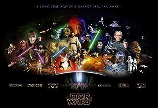 Adoff 1000 pièces de Puzzle Adulte Star Wars thème de l'affiche Ensemble de Puzzle Familial, Jeu éducatif, Puzzle de défi ...