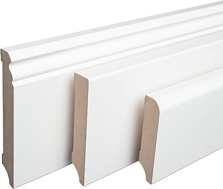 DQ-PP Endst/ück rechts 70mm PVC Nuss blues Laminatleisten Fussleisten aus Kunststoff PVC Laminat Dekore Fu/ßleisten