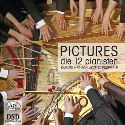 Pictures at an Exhibition (arr. N. Ishikawa for 2 pianos 12 hands and percussion ensemble): III. Tuileries