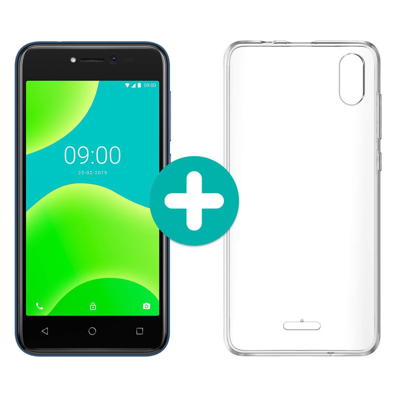 """WIKO Y50 + Carcasa - Smartphone de 5"""" (Dual SIM, 16GB de ROM ..."""