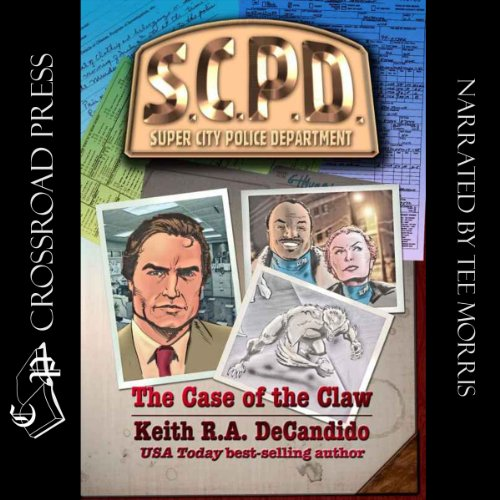 The Case of the Claw audiobook cover art